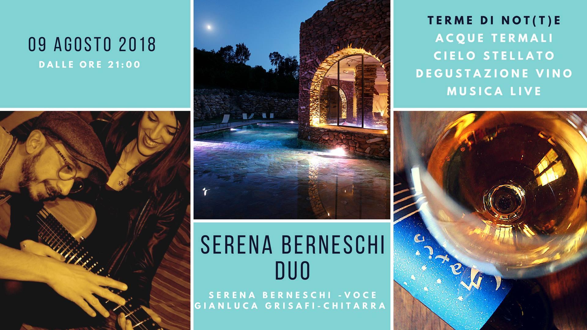 Terme di Notte Giovedí 9 Agosto 2018 - Le Terme di Sassetta